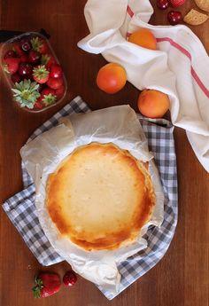 Tarta de queso rústica - The Art of Cupcakes