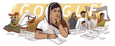 Subhadra Kumari Chauhan's 117th Birthday Iron Man Spiderman, You Doodle, Social Injustice, Fight For Freedom, Google Doodles, Freedom Fighters, News Track, Pen And Paper, Photo Galleries