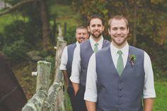 Real Wedding: Cali and Josia's Rustic Barn Wedding in Connecticut