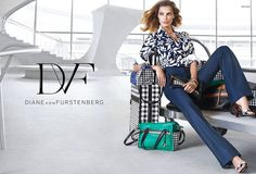 DARIA WERBOWY FOR DVF SPRING 2015 CAMPAIGN