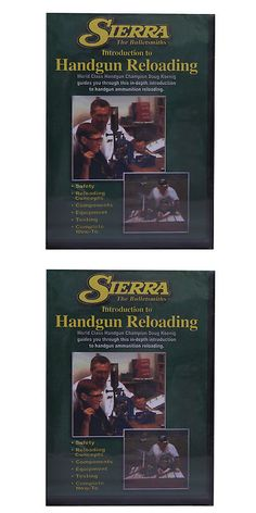 Manuals and Instruction Material 111293: Sierra Dvds And Cds 0094Dvd Reloading Dvd - Beginning Handgun -> BUY IT NOW ONLY: $35.01 on eBay!