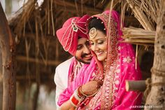 """Photo from Harvarinder Singh Photography """"Wedding photography"""" album Punjabi Wedding Couple, Punjabi Couple, Sikh Wedding, Wedding Couples, Farm Wedding, Boho Wedding, Wedding Reception, Couple Photography, Wedding Photography"""