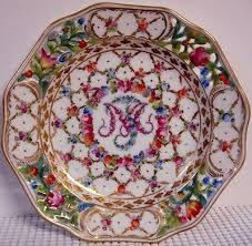 Resultado de imagem para dresden porcelain plates