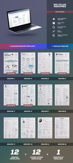 50 Premium Designs from Template Monster at the Price of One - resume template monster