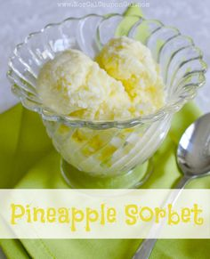 NorCal Coupon Gals In The Kitchen With Mom Mondays Pineapple Sorbet Recipe