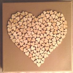 canvas hearts