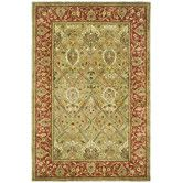 Persian Legend Light Green & Rust Area Rug Thinking about a rug for the living room