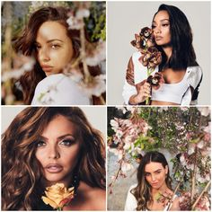 Little Mix slay while surrounded by flowers in stunning new photos from Japanese tour Little Mix Outfits, Little Mix Girls, Little Mix Jesy, Little Mix Style, Little Mix Fashion, Jesy Nelson, Perrie Edwards, Little Mix Singers, Little Mix Lyrics