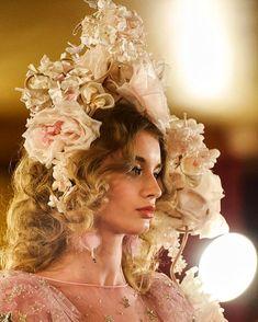 Giulia Maenza for Dolce & Gabbana Spring 2018 Alta Moda