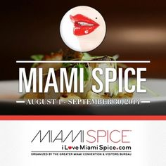 Only a few weeks left of Miami Spice! Dine out... and win!