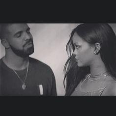 RiRi and Papi  #Rihanna #drake #work #mondaymotivation