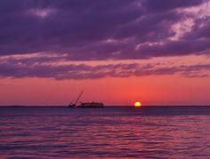 Sunset at Ciudad del Carmen, Campeche. by Yolotl Creativos on 500px
