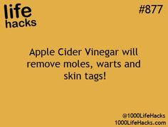 This actually works! I have a friend that put apple cider vinegar on a soaked band-aid everyday...took about 3 weeks but it fell off!