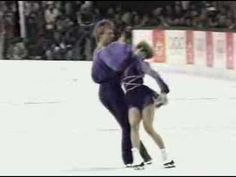 Torvill and Dean in 1984, I remember being so moved by this!