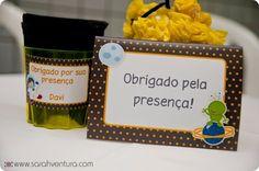 Festa Pronta - Astronauta  Tuty - Arte & Mimos  www.tuty.com.br