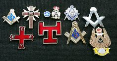 Wholesale trade lot of 10 #knights #templar freemason #scottish rite pin badges,  View more on the LINK: http://www.zeppy.io/product/gb/2/351969806095/
