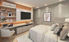 Bedroom Setup, Wardrobe Design Bedroom, Room Design Bedroom, Bedroom Green, Small Room Bedroom, Home Bedroom, Home Music Rooms, Home Library Rooms, House Rooms