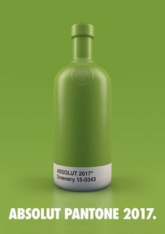 Take a look at this great series of Absolut Vodka Pantone Packaging, many of the classic vodka flavors packaged in a new way. Absolut Vodka, Whisky, Branding, Blue Photography, Color Of The Year 2017, Business Card Maker, Alcohol Bottles, Best Ads, Marketing
