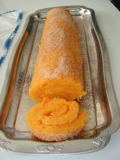 À Volta dos Doces ... Com a Maria: Torta de Cenoura e Laranja