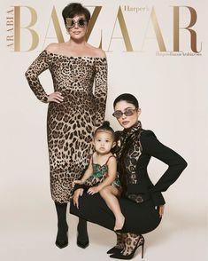 Kylie Jenner Kris Jenner and daughter Stormi makes her cover debut at Harpers Bazaar Arabia shoot Kourtney Kardashian, Robert Kardashian, Kardashian Jenner, Kardashian Family, Kendall Y Kylie Jenner, Kylie Jenner Photos, Kylie Jenner Instagram, Teen Choice Awards, Scott Jenner