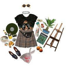 art hoe probz by cyclopia on Polyvore