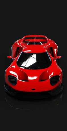 (°!°) Ford GT Widebody by Ryan Hawkins / ArtStation