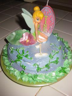 tinkerbell mini cake