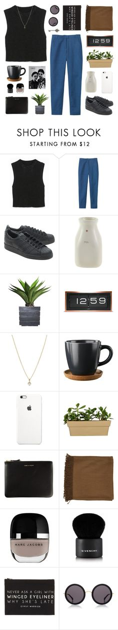 """""""cause i'm shouting your name all over town"""" by ruthaudreyk ❤ liked on Polyvore featuring Toast, adidas Originals, Amara, Laura Ashley, LEFF Amsterdam, Laura Lee Jewellery, Höganäs Ceramic, Comme des Garçons, Surya and Givenchy"""