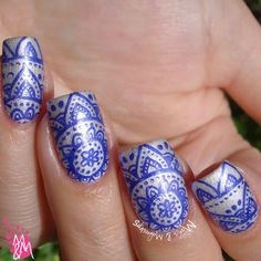 Manis & Makeovers: Boho Chique with Ms. Sparkle