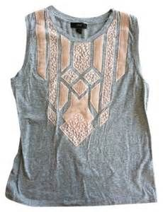 jCrew Top Grey with Pink lace | Pretty Little Liars