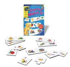 "Learn about the connection between objects! This game is played with 12 self-correcting cards. ""What goes with the chair? The table!"" If you're not sure, just see if the two puzzle pieces fit together. Rules for 4 different games are included. Trains fundamental skills in language, communication, logic and problem solving.Recommended Age: 3 and upPlayers: 1"