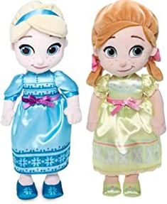 Shop Disney Animators Collection Frozen 2 Elsa and Anna Plush Doll Small – 12 Disney Princess Toys, Princess Movies, Princess Zelda, Anthony Johnson, Disney Olaf, Disney Queens, Soft Dolls, Plush Dolls, Elsa
