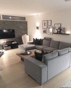 Home Design Decor, Home Room Design, Home Interior Design, Living Room Designs, Home Decor, Modern Interior, Design Ideas, Classy Living Room, Living Room Red