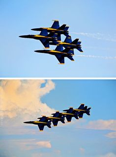 blue angels of the U.S Navy