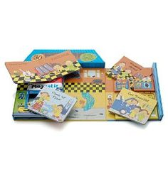My Magnetic Garage Book-Marks & Spencer £10. With 4 board books, magnets and magnet scene board.