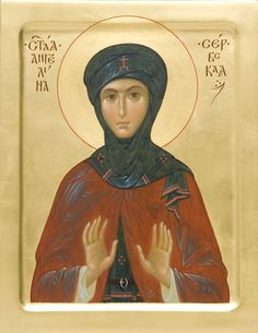 Icon of St Angelina of Serbia