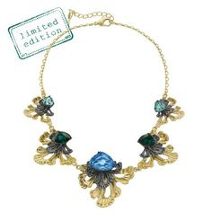 LE ROCOCO STATEMENT COLLAR NECKLACE... Get it here: http://www.chloeandisabel.com/boutique/samantharivera
