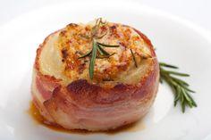 Bacon Wrapped Stuffed Onions