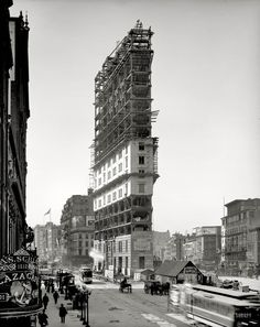 Constructing Times Square – 1903
