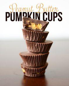 Peanut Butter Pumpkin Cups