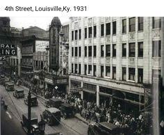 4th street Louisville,Ky 1931