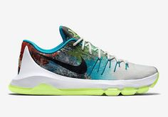 1e6492af941b NEW Nike KD 8 N7 811363 123 Power Of Perseverance White Black Lime Men s SZ  12