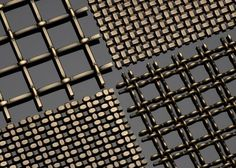 Image result for french brass mesh panels