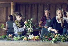 Learn how to grow and design with local, seasonal flowers at Floret Flower Farm's workshops:  http://www.floretflowers.com/workshops/  #farmerflorist