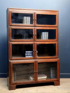 Small Minty Book Case, Antique Cabinets & Storage, Drew Pritchard
