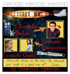 """""""Doctor Who💙"""" by avery333 on Polyvore"""