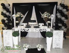 Aluguel Decoração de Casamento Preto