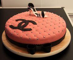 Chanel taart 2