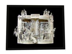 Pride and Prejudice by Jane Austen Book Sculpture by artfuliving