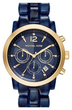 MICHAEL+Michael+Kors+'Audrina'+Chronograph+Bracelet+Watch,+42mm+available+at+#Nordstrom